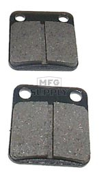 VD-127 - Honda Rear ATV Brake Pads. Fits many ATC200X / ATC250R / TRX250X, etc