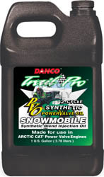 2506-A1000 - Case of 6 gallons of Synthetic Blend for Arctic Cat Power Valve Snowmobiles (actual shipping charges apply)