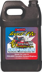 2506-P1000 - Case of 6 gallons of Synthetic Blend for Polaris Power Valve Snowmobiles (actual shipping charges apply)