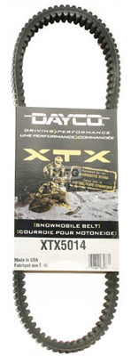 XTX5014 - Arctic Cat Dayco  XTX (Xtreme Torque) Belt. Fits 95-04 high powered Snowmobiles.