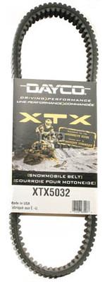 XTX5032 - Arctic Cat Dayco   XTX (Xtreme Torque) Belt. Fits '07 and newer high powered Snowmobiles.