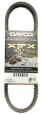 XTX5020 - Polaris Dayco XTX (Xtreme Torque) Belt. Fits most 01 & newer mid to high power Polaris Snowmobiles.