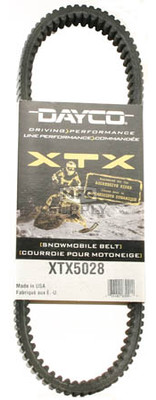 XTX5028 - Arctic Cat Dayco   XTX (Xtreme Torque) Belt. Fits '05 Firecat models without reverse.