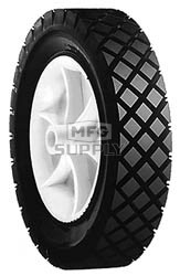 "7-855 - 9"" X 1.75"" Snapper 12579 Plastic Wheel with 9/16"" Center Hole"