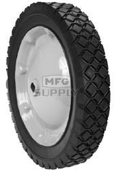 """6-8962 - 10"""" X 1.75"""" Snapper 44743 Steel Wheel Assembly (Double """"D"""" Diamond Tread)"""