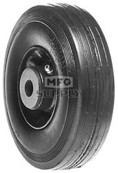 "6-3239 - 6"" X 2.00"" Ransomes/Bobcat 38012N and Bunton PLO-642 and Exmark 303201 and Encore 323008 and Kees 322008 Steel Wheel with 5/8"" ID Roller Bearing"