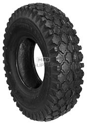 8-344 - 4.80 X 4.00 X 8 Stud Tire 2 Ply Tube Type