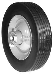 "6-2998 - 8"" X 1.75"" Ransomes/Bobcat 76167, 76096-01 and Sensation 083-106 Steel Wheel with 1/2"" ID Bearing"