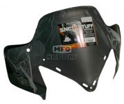 "450-653-50 - Yamaha low 14"" Solid Black Windshield. RX-1, RS Vector, Rage."