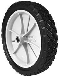 "7-8930 - 9"" x 1.75"" Snapper 22797 Plastic Wheel with Spline Drive Bushing (Diamond Tread)"