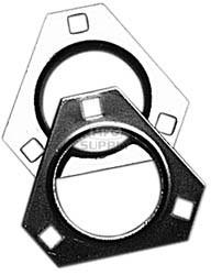 "AZ8213 - 3 Hole 1"" Axle Bearing Flangette. Sold each."