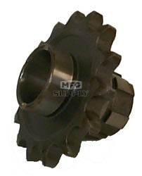 KS003825 - Honda ATV 15 tooth front sprocket. Fits 84-85 ATC110.