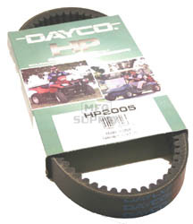 HP2005 - Dayco High Performance ATV Belt. Fits Yamaha Kodiak, Bruins, Grizzly 400/450 & Rhino 450 models.