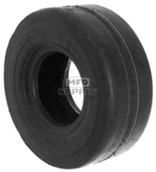 8-908 - 9 X 350 X 4 Smooth Tread Tire 4 Ply Tubeless
