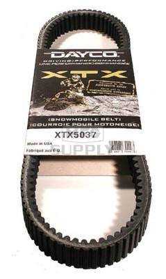 XTX5037 - Arctic Cat Dayco  XTX (Xtreme Torque) Belt. Fits 06-07 T660 Turbo Snowmobiles.