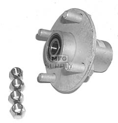 "AZ2296 - Steel Hub with 3/4"" ID Bearing"