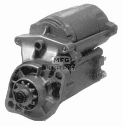 SND0274 - Starter for Kubota & Carrier Equipment. 12 volt, CW rotation, 11 tooth, 1.4kW
