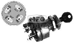 31-1928 - 4 Pole Ignition Switch