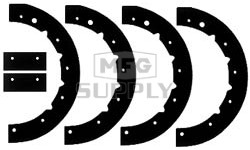 41-5521 - Rubber Paddles for MTD