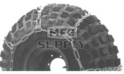 "84-322 - 56"" long x 16"" wide ATV Tire Chains (1 pair)"