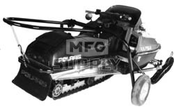 8100-0228 - Heavy Duty Snowmobile Shop Dolly