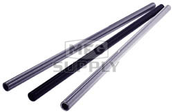 "AZ1432-34 - Silver Anodized Aluminum Tubular Axles 34"" Length, .195 wall, 1-1/4"" dia"