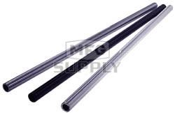 "AZ1432-44 - Silver Anodized Aluminum Tubular Axles 44"" Length, .195 wall, 1-1/4"" dia"