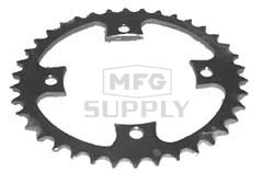 KS003934 - Honda ATV 38 tooth rear sprocket. Fits ATC250R/TRX250/TRX300EX etc