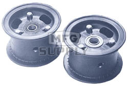 "AZ1041 - 4"" Azusalite Wheel, 3"" wide, 3/4"" ID Bearing"