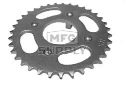 KS003302 - Honda ATV 35 tooth rear sprocket. 73-81,72-85 ATC70, 86-87 TRX70