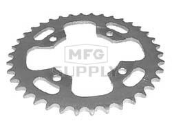 KS003930 - Honda ATV 38 tooth rear sprocket. Fits 86-87 ATC200X.