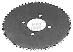 """4-470 - Steel Plate Sprocket C35 72T;8-3/4"""" OD"""