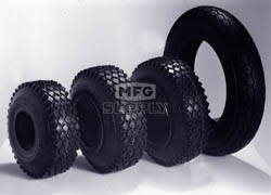 AZ7013 - 350 x 10 Universal Tire, 4 ply