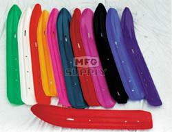 "501-400 - Ski-Doo Ski Skins 3/16"" Black. (Pair). Fits narrow Formula Skis (4-1/2"" x 40-1/4"")"