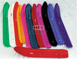 "501-402-82 - Ski-Doo Ski Skins 3/16"" Red. (Pair). Fits Formula S-2000 Wide Skis (5-1/2""x 36-1/2"")"