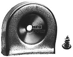 18-1284 -  Muffler Deflector Replaces Briggs & Stratton 393755