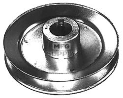 "13-764 - P-318 Steel Pulley 3-1/2"" X 5/8"" X 3/16"""