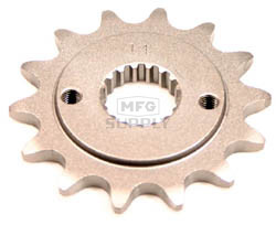 KS004094 - Honda ATV 14 tooth front sprocket. Fits 99-03 TRX400EX.