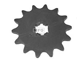KS003397 - Yamaha ATV 14 tooth front sprocket. Fits Tri-Moto & Big Wheel models