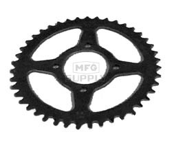KS003990 - Kawasaki ATV 43 tooth rear sprocket. Fits 87-03 KSF250 Mojave.