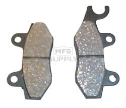 VD-250-H3 - Yamaha Front Right ATV Brake Pads. 02 YFZ450