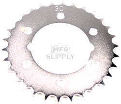 KS004964-W1 - Polaris ATV 30 tooth axle to axle sprocket. Fits many 6x6 models