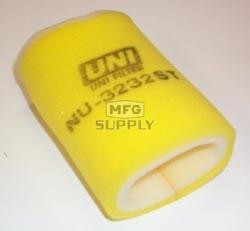 NU-3232ST - Uni-Filter Two-Stage Air Filter for 87-99 Yamaha Big Bear, 93-99 Kodiak, 92-00 Timberwolf