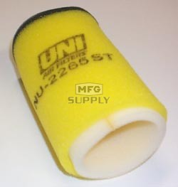 NU-2265ST - Uni-Filter Two-Stage Air Filter. For Yamaha 85-89 Moto 4 200, 83-86 Tri Moto 225 DX