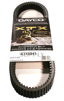 XTX5041 - Ski-Doo Dayco  XTX (Xtreme Torque) Belt. Fits many 05-08 High Performance models.