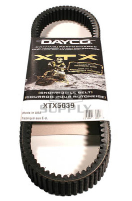 XTX5039 - Polaris Dayco XTX (Xtreme Torque) Belt. Fits some 08 and newer models.