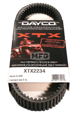 XTX2234 - Suzuki Dayco XTX (Xtreme Torque) Belt. Fits newer 700 and 750 models.