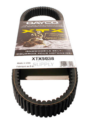 XTX5038 - Arctic Cat Dayco  XTX (Xtreme Torque) Belt. Fits 09-10 Z1 & TZ1 Turbo models.