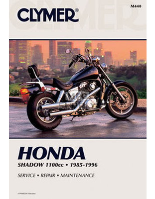 CM440 - 85-96 Honda VT1100C Shadow Repair & Maintenance manual