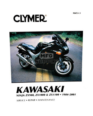 CM453 - 84-01 Kawasaki Ninja ZX900, ZX1000, & ZX1100 Repair & Maintenance manual
